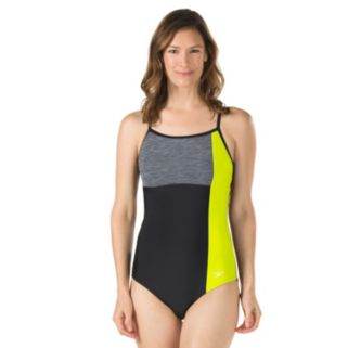 Women's Speedo Colorblock One-Piece Swimsuit