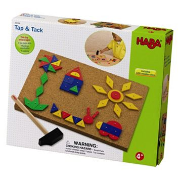 HABA Tap & Tack Imaginative Design Play Set