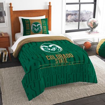 Colorado State Rams Modern Take Twin Comforter Set by Northwest