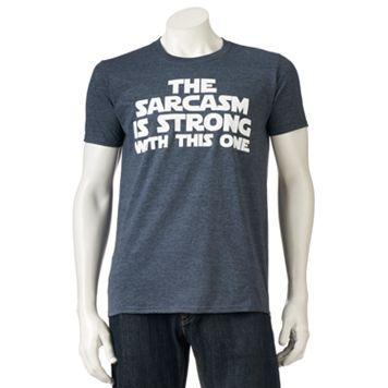 Men's Strong Sarcasm Tee