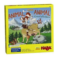 HABA Animal Upon Animal Crest Climbers Stacking Game