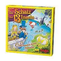 HABA The Treasure of the 13 Islands Board Game