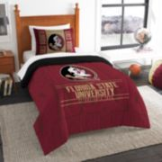 Florida State Seminoles Modern Take Twin Comforter Set by Northwest