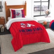 Fresno State Bulldogs Modern Take Twin Comforter Set by Northwest