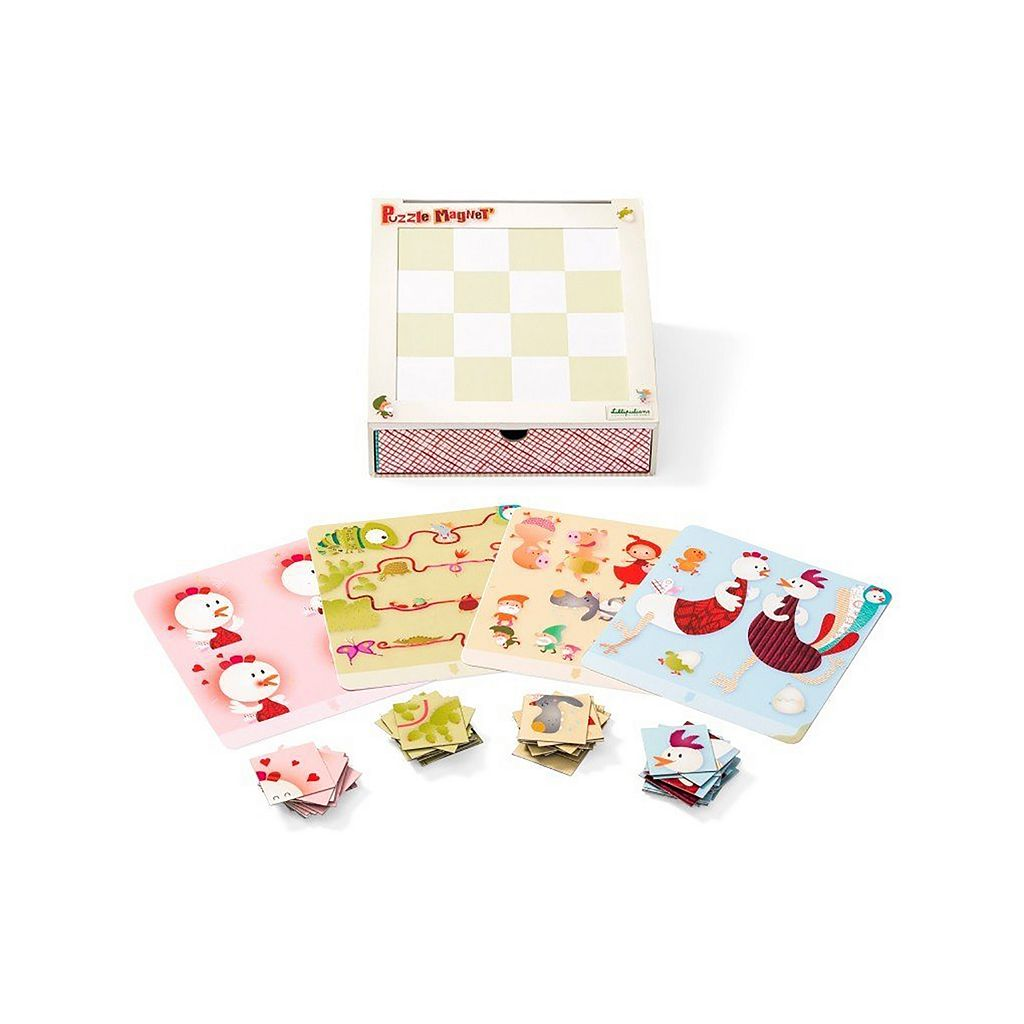 Lilliputiens Smart Wonders Magnetic Puzzles by HABA