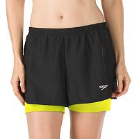 Women's Speedo 2-in-1 Swim Shorts