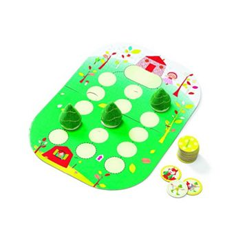 Lilliputiens Whoo Hop Red Riding Hood Game by HABA