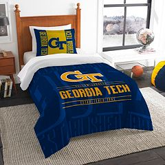 Georgia Tech Yellow Jackets Modern Take Twin Comforter Set by Northwest