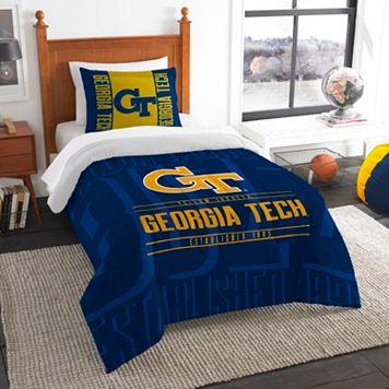 Georgia Tech Yellow Jackets Modern Take Twin Comforter Set by Northwest