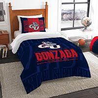Gonzaga Bulldogs Modern Take Twin Comforter Set by Northwest