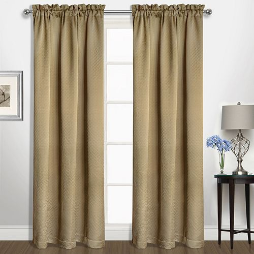 United Curtain Co. 1-Panel Kate Window Curtain