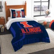 Illinois Fighting Illini Modern Take Twin Comforter Set by Northwest