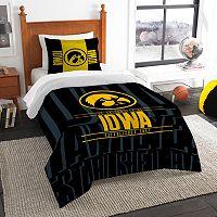 Iowa Hawkeyes Modern Take Twin Comforter Set by Northwest