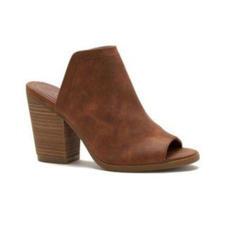 sugar Peppermint Women's Block Heel Mules