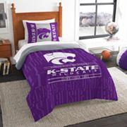 Kansas State Wildcats Modern Take Twin Comforter Set by Northwest