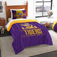 LSU Tigers Modern Take Twin Comforter Set by Northwest