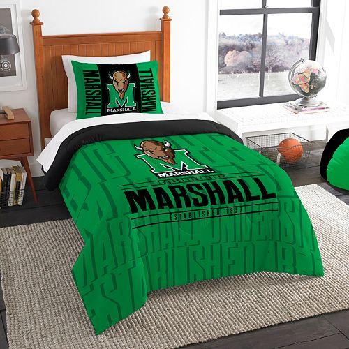 Marshall Thundering Herd Modern Take Twin Comforter Set by Northwest