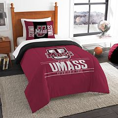 UMass Minutemen Modern Take Twin Comforter Set by Northwest