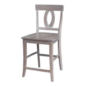 International Concepts Cosmo Wood Counter Stool