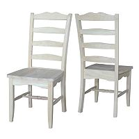 International Concepts Magnolia Dining Chair 2-piece Set