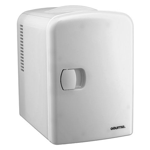 Gourmia Portable 6-Can Mini Fridge