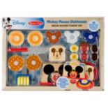 Mickey Mouse Clubhouse Deluxe Wooden Toaster Set by Melissa & Doug