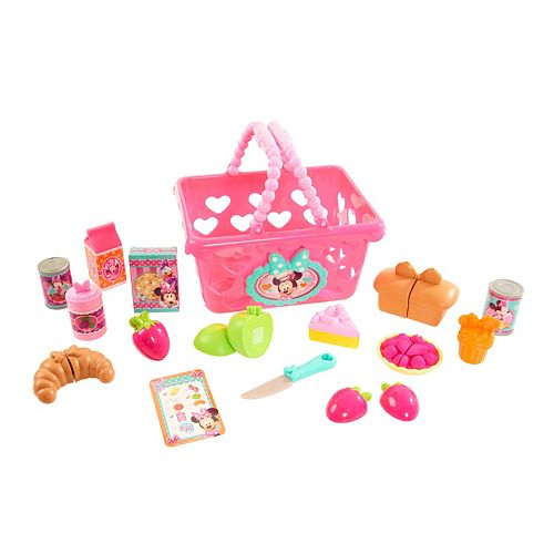 Disney S Minnie Mouse Bow Tique Bowtastic Shopping Basket