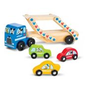 Mickey Mouse Clubhouse Wooden Car Carrier by Melissa & Doug