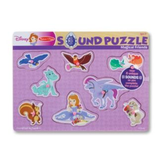 Sofia the First Magical Friends Wooden Sound Puzzle by Melissa & Doug