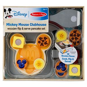 Mickey Mouse Clubhouse Wooden Flip & Serve Pancake Set by Melissa & Doug