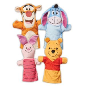 Winnie the Pooh Soft Hand Puppets by Melissa & Doug
