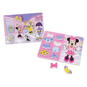 Disney's Minnie Mouse Chunky Puzzle Bundle by Melissa & Doug