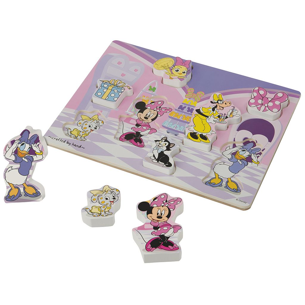 Disney's Minnie Mouse Chunky Puzzle Bundle by Melissa & Doug
