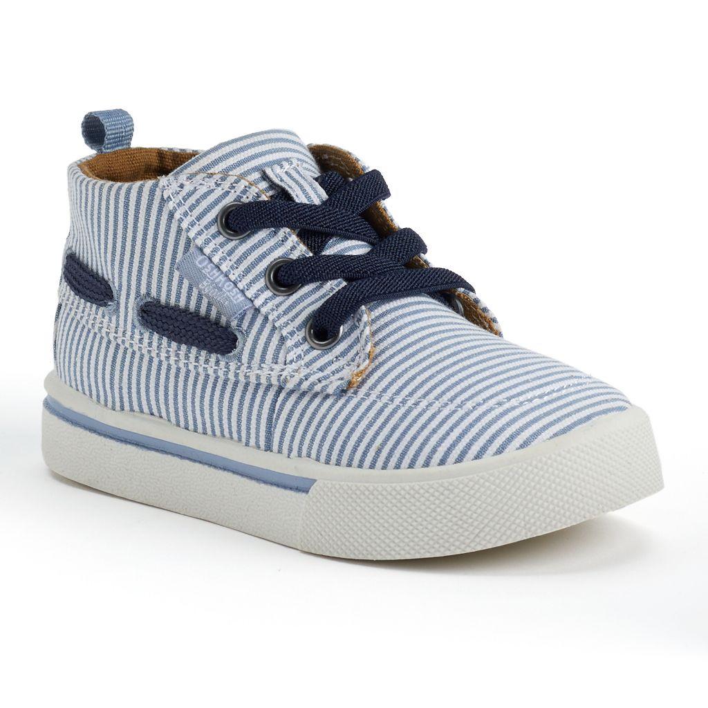 OshKosh B'gosh® Toddler Boys' Slip-On Boat Shoes