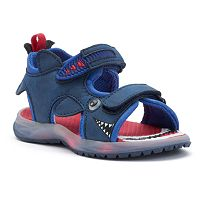 Carter's Presley Toddler Boys' Light-Up Shark Sandals