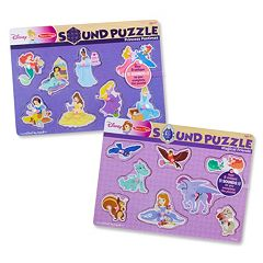 Disney Princess & Sofia the First Sound Puzzle Bundle by Melissa & Doug