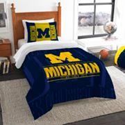 Michigan Wolverines Modern Take Twin Comforter Set by Northwest