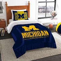 Michigan Wolverines Modern Take Twin Comforter Set by Northwest