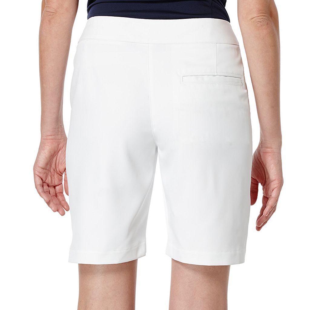 Women's Grand Slam Performance White Golf Shorts