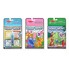 Colors & Shapes, Fairy Tales & Animals Water Wow! Bundle by Melissa & Doug