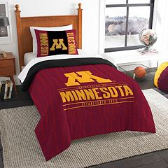 Minnesota Golden Gophers Modern Take Twin Comforter Set by Northwest