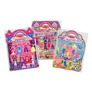 Dress-Up Princess & Mermaid Puffy Sticker Bundle by Melissa & Doug