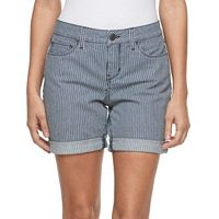 Petite Croft & Barrow® Jean Shorts