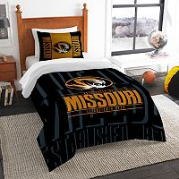 Missouri Tigers Modern Take Twin Comforter Set by Northwest