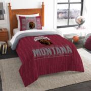 Montana Grizzlies Modern Take Twin Comforter Set by Northwest