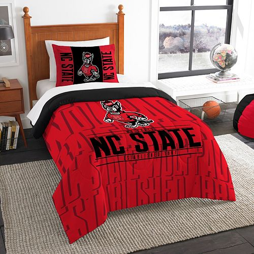 North Carolina State Wolfpack Modern Take Twin Comforter Set by Northwest