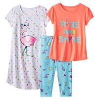 Girls 4-16 SO® Graphic Pajama Set