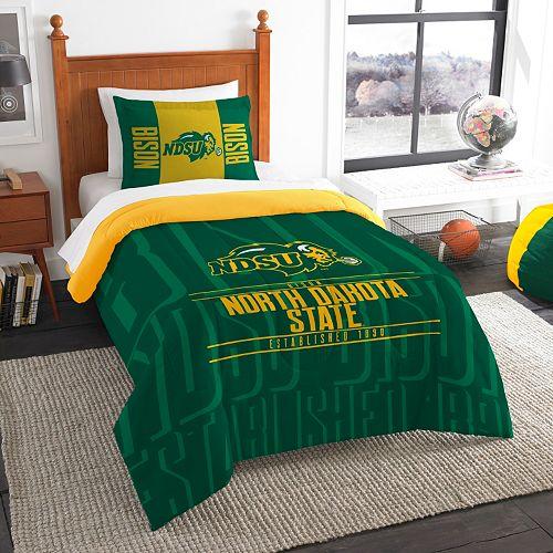 North Dakota State Bison Modern Take Twin Comforter Set by Northwest
