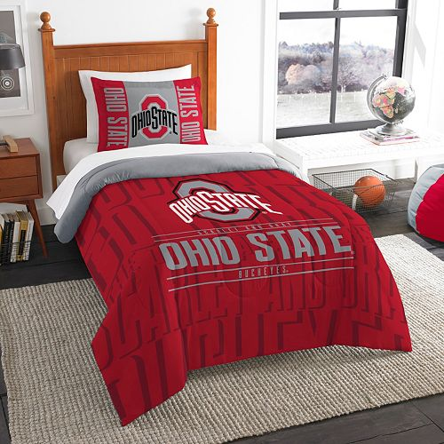 Ohio State Buckeyes Modern Take Twin Comforter Set by Northwest