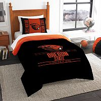 Oregon State Beavers Modern Take Twin Comforter Set by Northwest